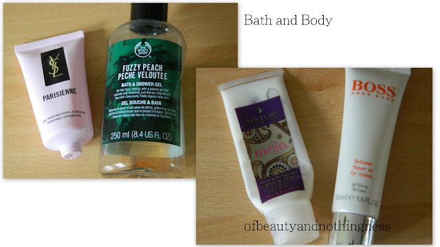 June Empties 2012: Bath and Body Products