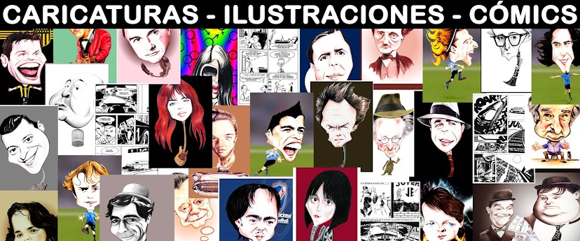 Caricaturas Ilustraciones Comics