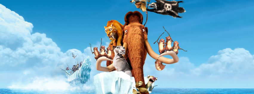 Ice age 4 continental drift movie facebook cover