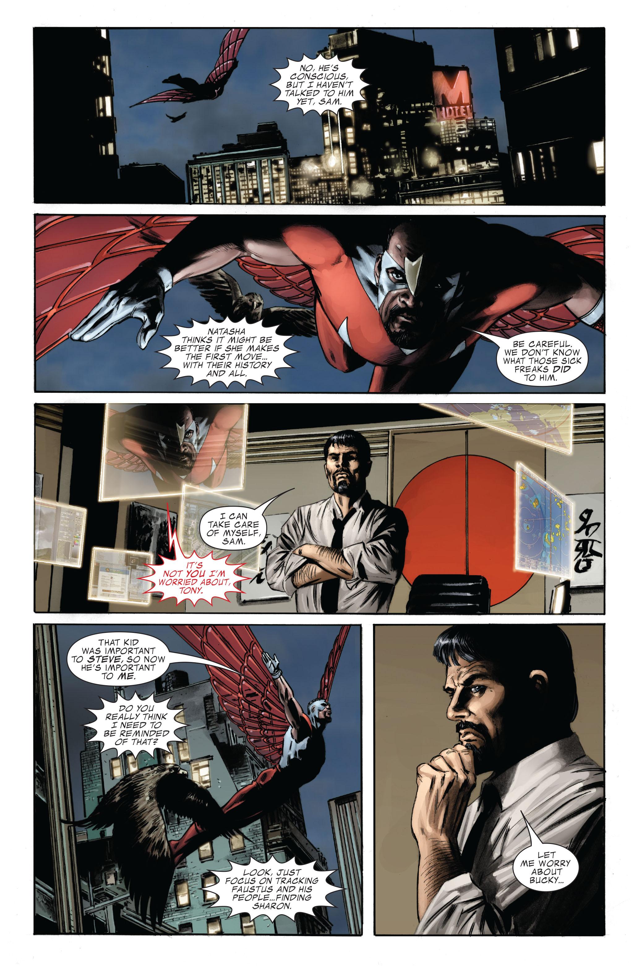 Captain America (2005) Issue #33 #33 - English 7
