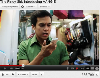 Vangie Pinoy Siri Virtual Assistant