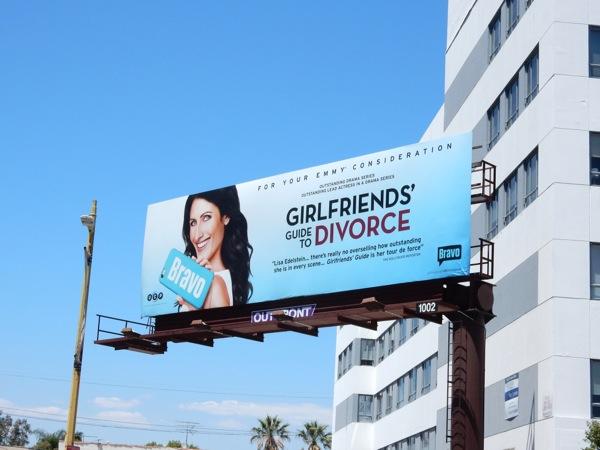 Girlfriends Guide to Divorce 2015 Emmy billboard