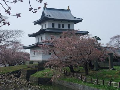 Matsumae (Fukuyama) Castle in Hokkaido