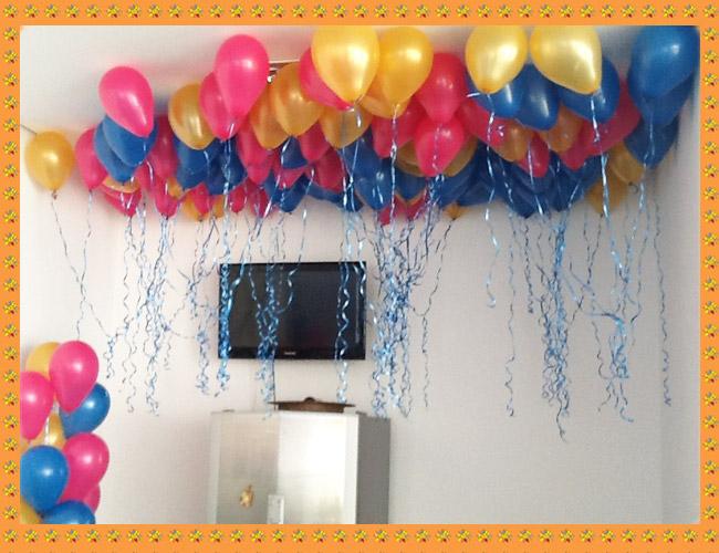 decoracao festa valente: Decoração com Balões: Decoração Residencial – Festa da Valente