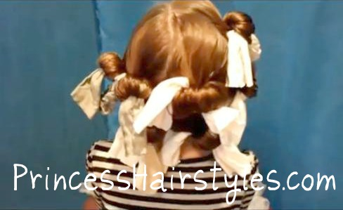 Grab some nylons a head of hair… and have some fun creating lovely