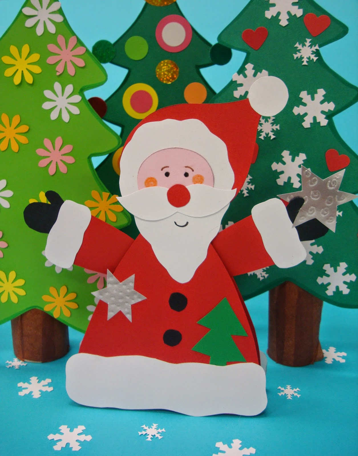 Vicky de sus taller de manualidades navide as para ni os - Manualidades navidenas faciles para ninos ...