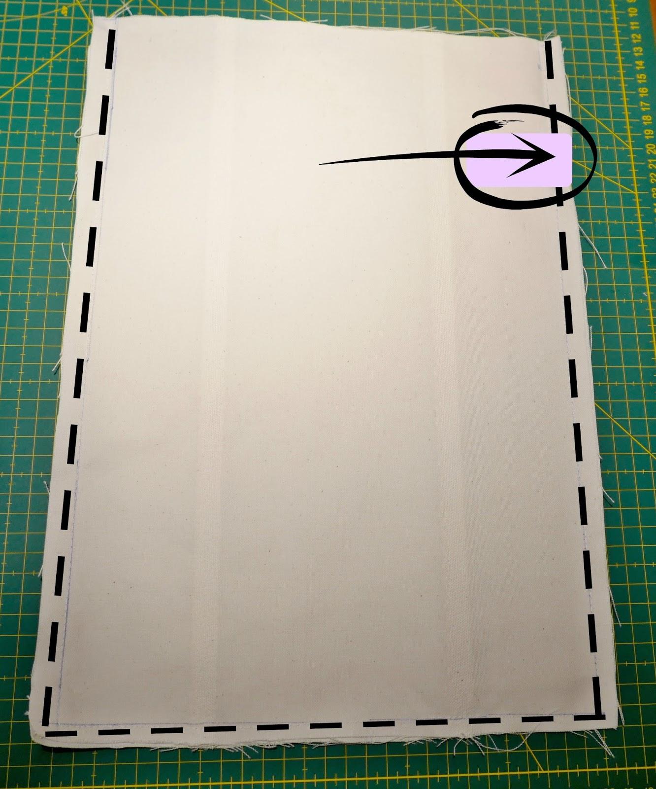 Curso de costura gratis: Cómo hacer una bolsa de tela ~ Colours for Baby