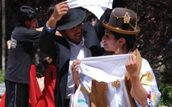 La cueca boliviana