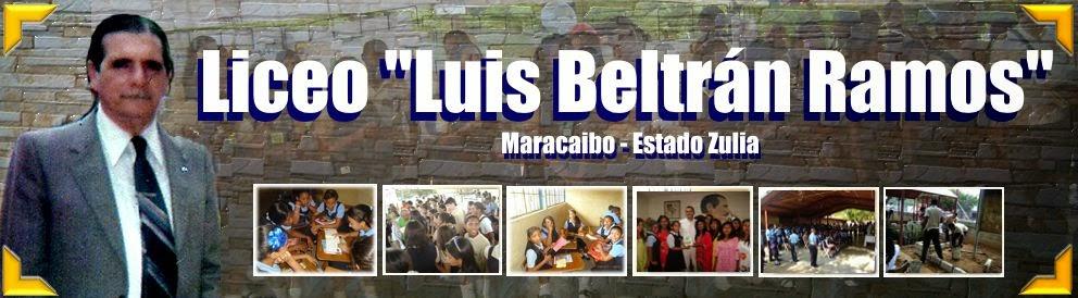 LICEO LUIS BELTRAN RAMOS