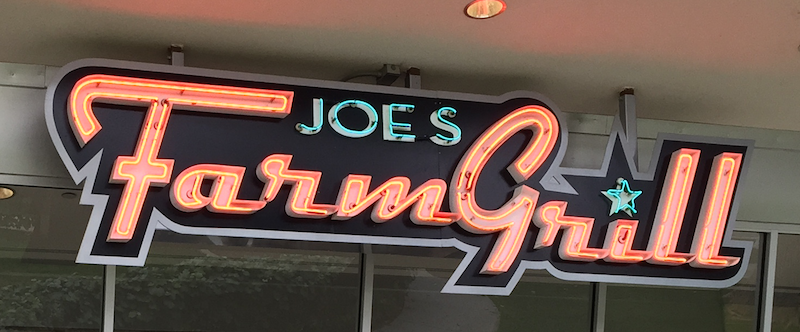 Joe's Farm Grill in Gilbert AZ as seen on Diners, Drive-Ins and Dives on Food Network