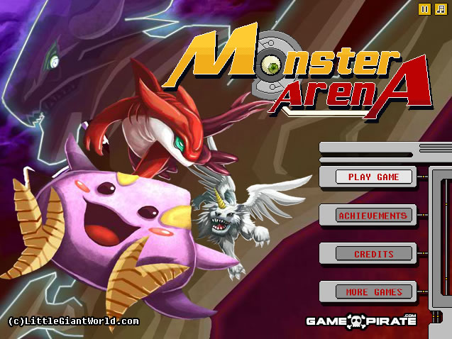 Unblocked Game : Monster Arena