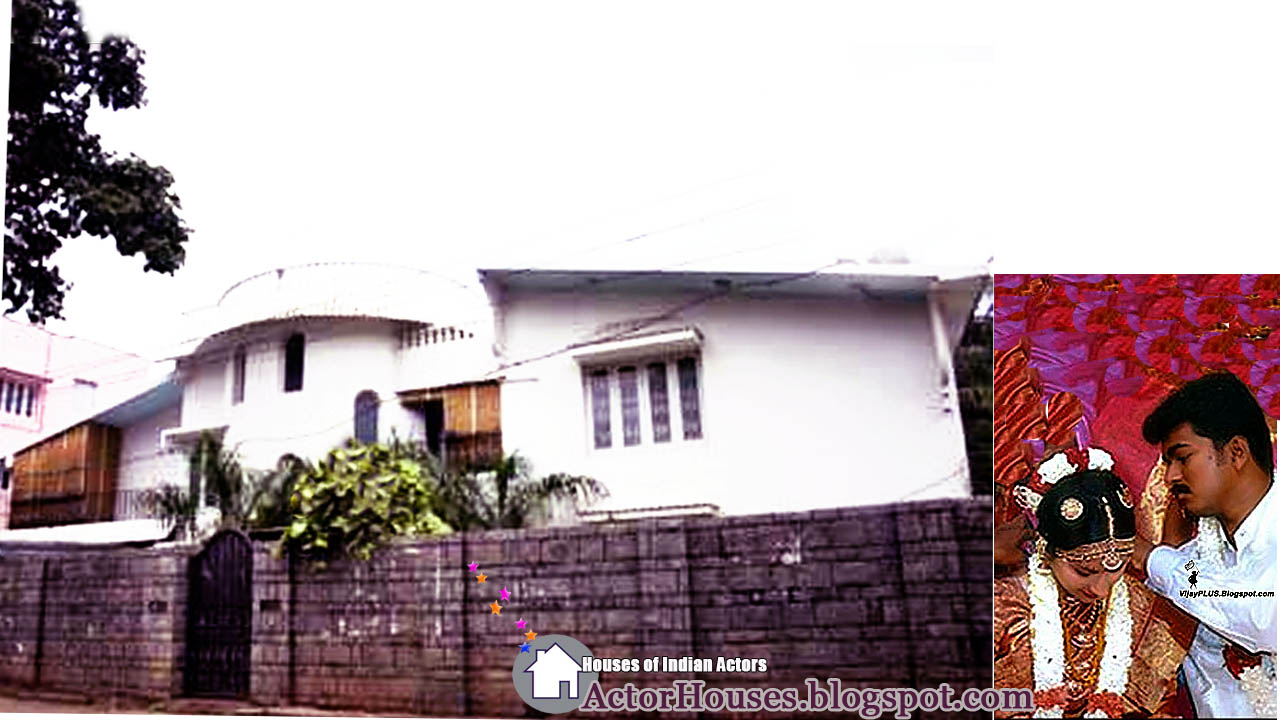 Actor vijay house address the image kid for Real house