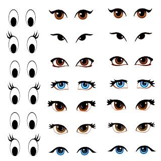 My Skills Guide Manga Eyes For Amigurumi Practice