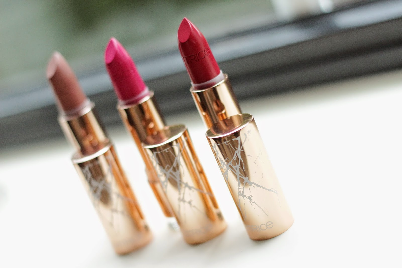 catrice metallure lipsticks review swatches full face