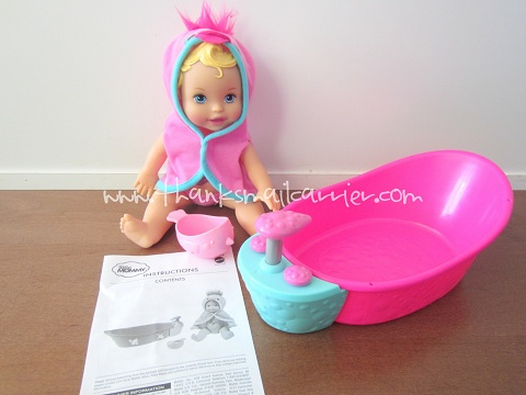 Little Mommy Bubbly Bathtime review