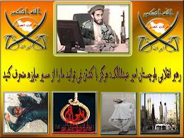 رهبر انقلابی بلوچستان امیر عبدالمالک: هرگز با کشتن نمی توانید ما را از مسیر مبارزه منحرف کنید
