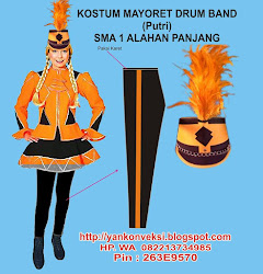 KOSTUM DRUM BAND
