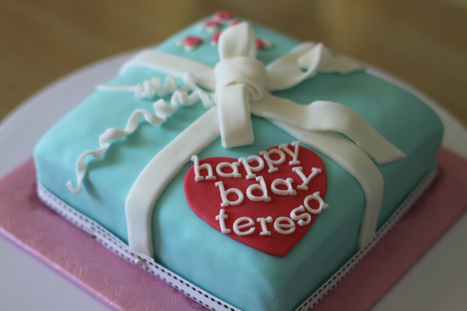 Happy Birthday Teresa Cake