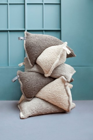 {Craft} Chunky knit nests by Zilalila