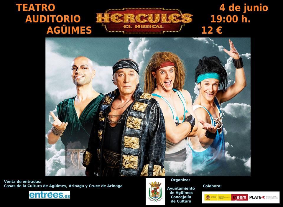 """""""Hércules, el musical, en Agüimes"""