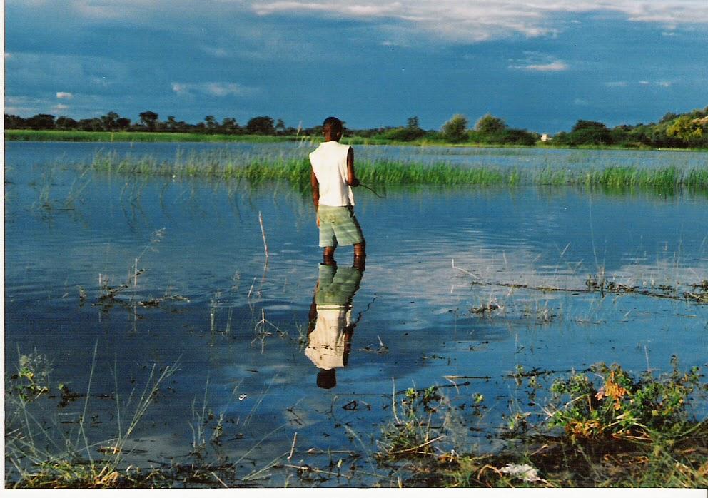 Namibia - Kavango river Rundu