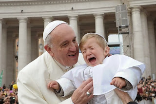 Pope and boy