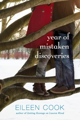 Year of Mistaken Discoveries book cover Eileen Cook