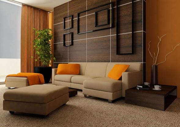 Sala De Estar Naranja ~ algunas fotos de salas hermosisimas con combinaciones de naranja