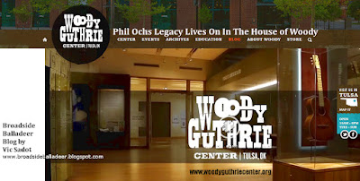 Phil Ochs Archive at Woody Guthrie Center