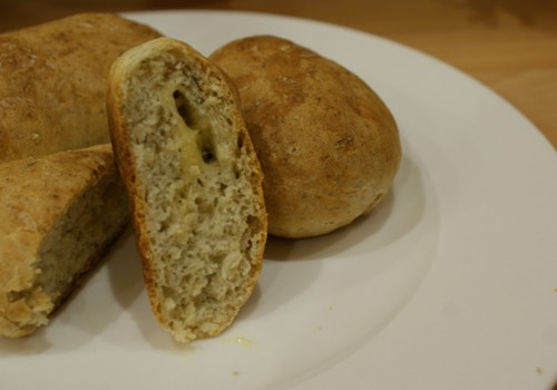bułki pszenne z serem