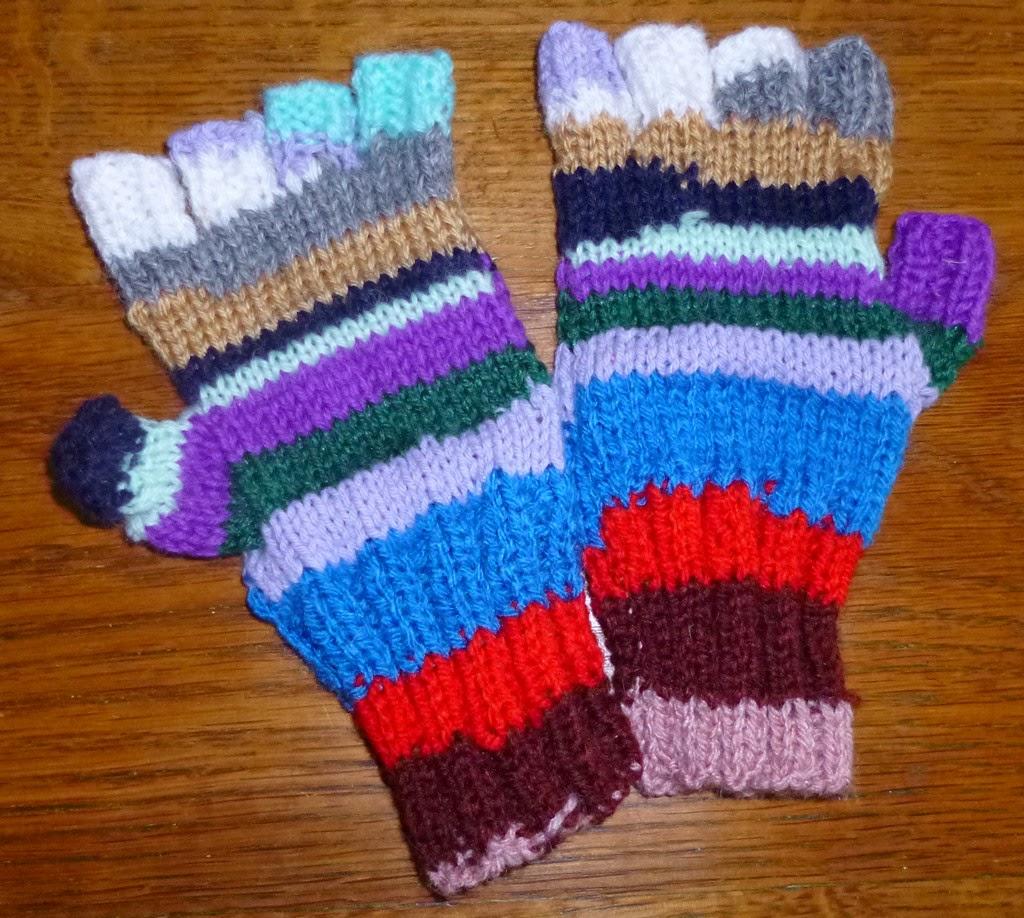 Je m 39 clate avec mes 10 doigts des mitaines pour l 39 hiver - Comment tricoter des mitaines avec doigts ...