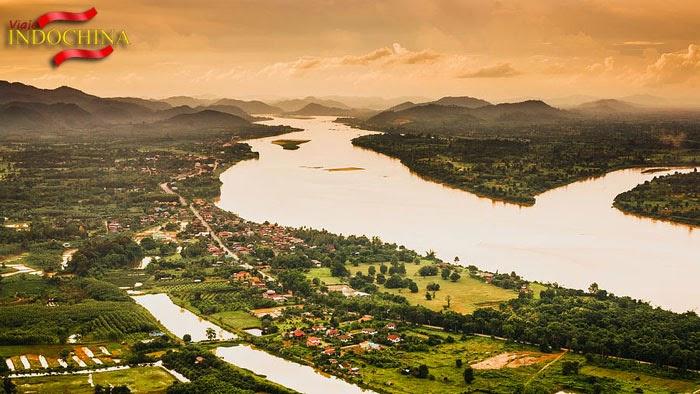 Río Mekong Vietnam Camboya
