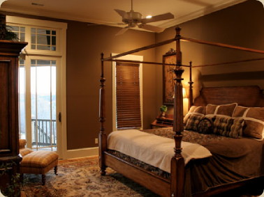 Eye for design decorating with brown Brown color bedroom