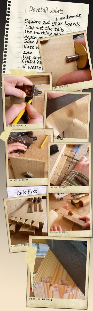 Dovetails Handmade!