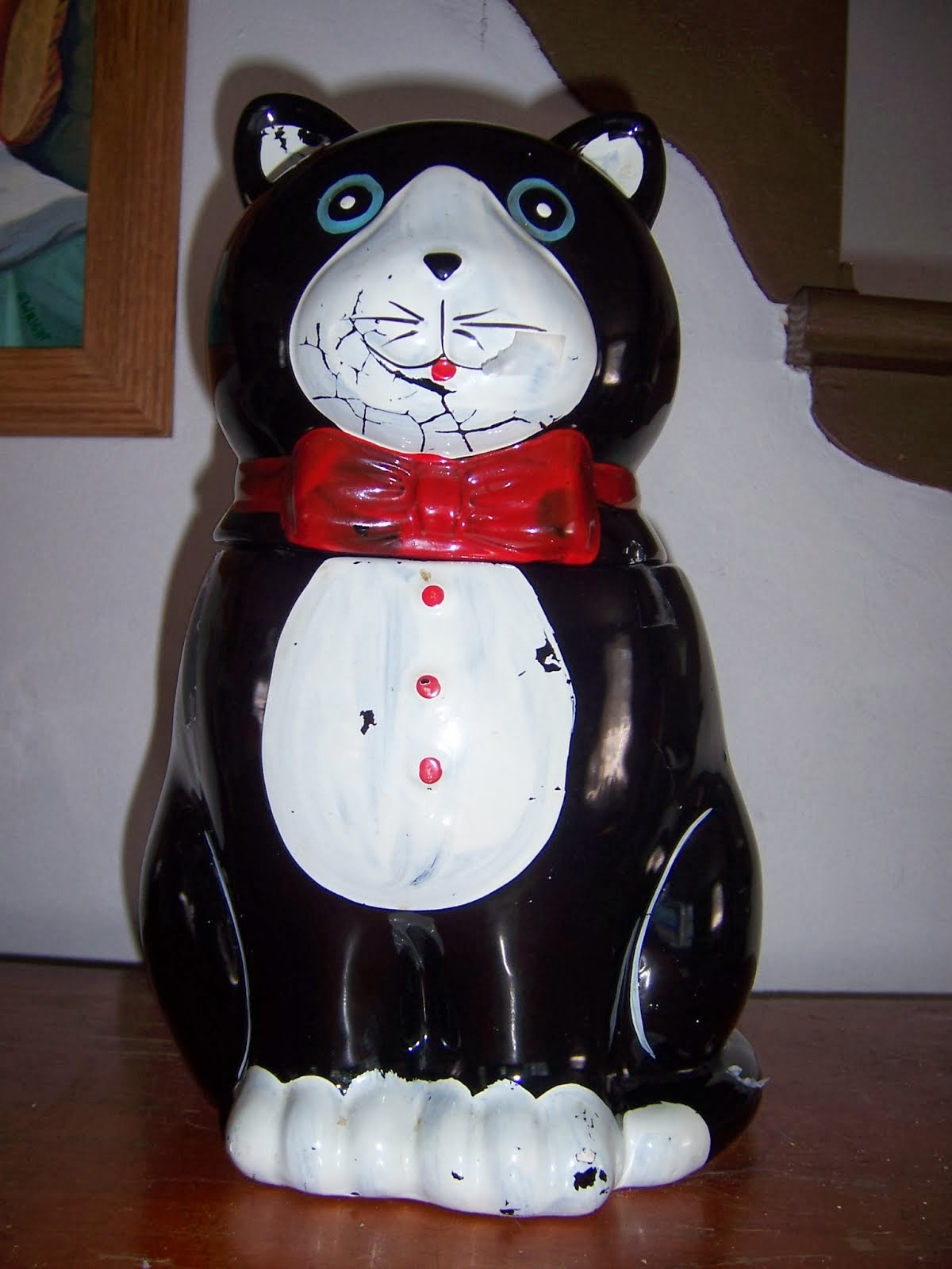 Fat Cat Cookie Jar