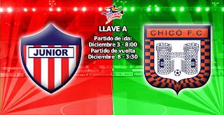 Atlético Junior Vs Boyacá Chicó - Cuartos de Final