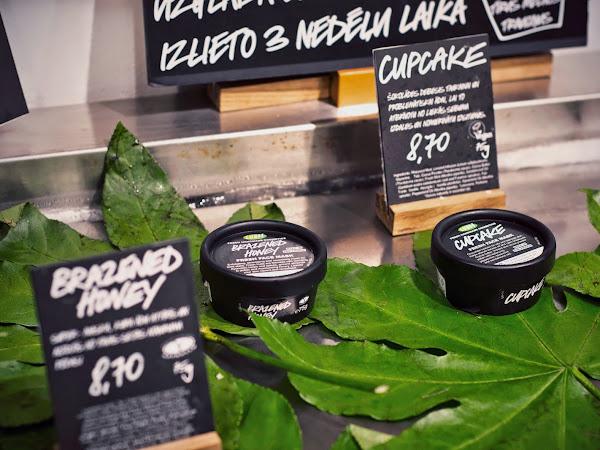 Burvīgs svētdienas sākums : LUSH svaigo masku darbnīca t/p ALFA veikaliņā