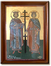 Ο αγιος κωνσταντίνος και η αγία ελένη