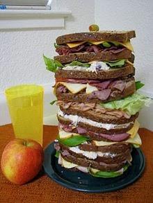 http://en.wikipedia.org/wiki/Dagwood_sandwich