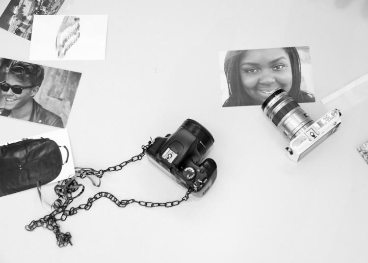 fashionblogger photo camera