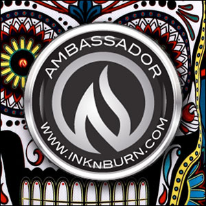 I'm an INKnBURN ambassador!