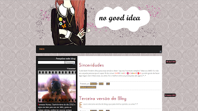 3ª versão do blog