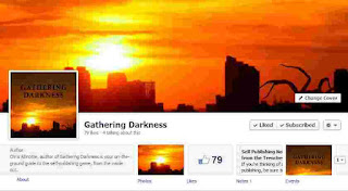 "Gathering Darkness is on Facebook. ""Likes"" are always... um ... liked."