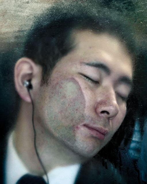Michael Wolf. Tokyo Compression