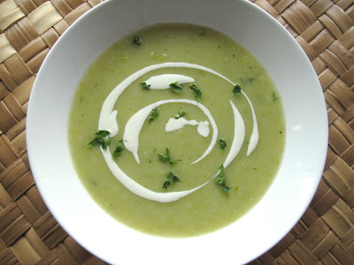 Leek+and+Potato+Soup Cream of Leek and Potato Soup