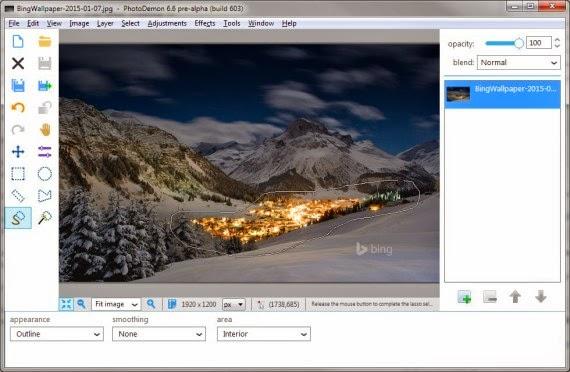 برنامج مجاني لتحرير وتحسين ومعالجة الصور PhotoDemon 6.6