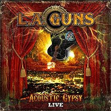 A la venta el CD de L.A. Guns Acoustic Gypsy Live