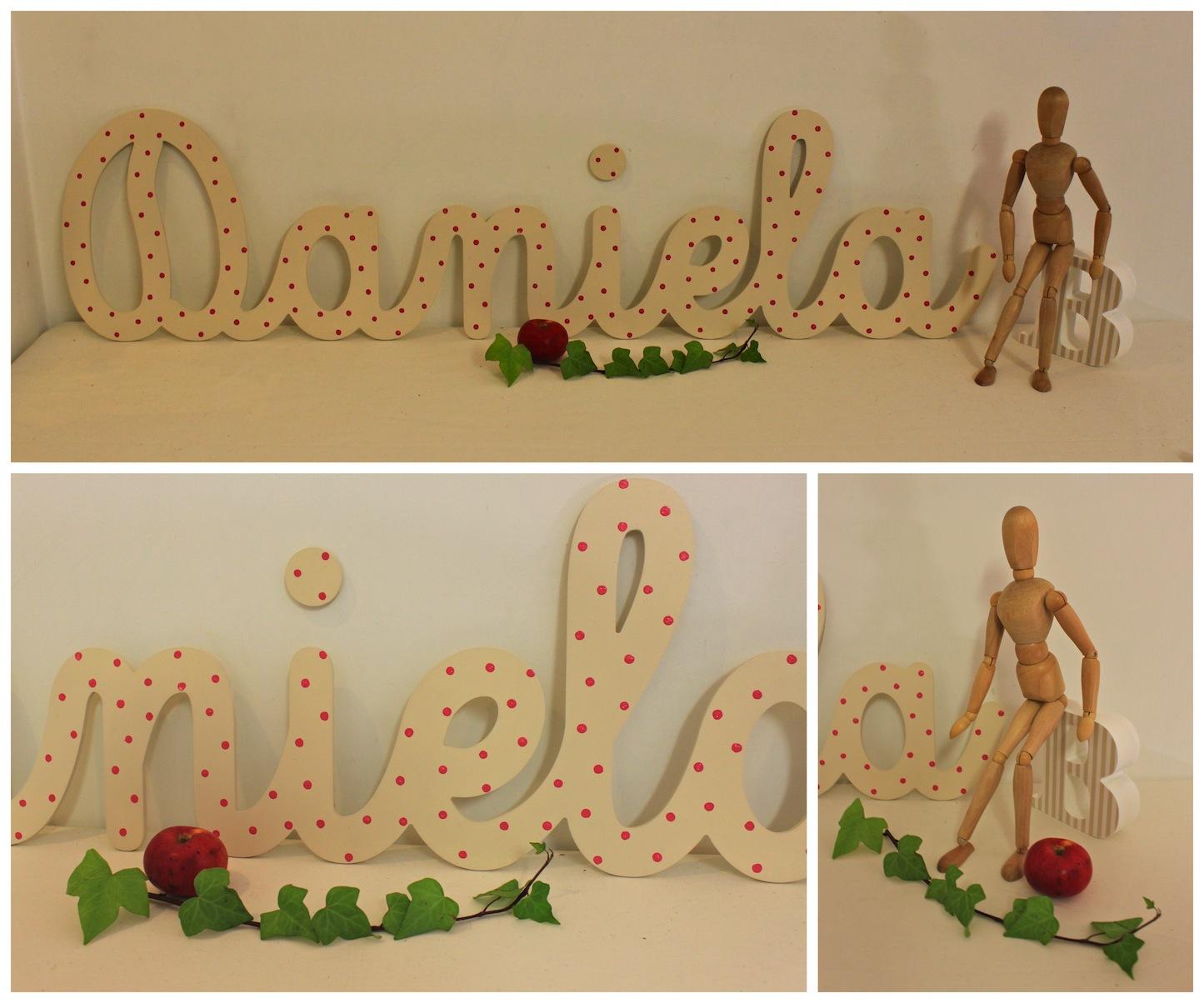 Decoraci n infantil personalizada cuadros infantiles - Letras decorativas para habitaciones infantiles ...