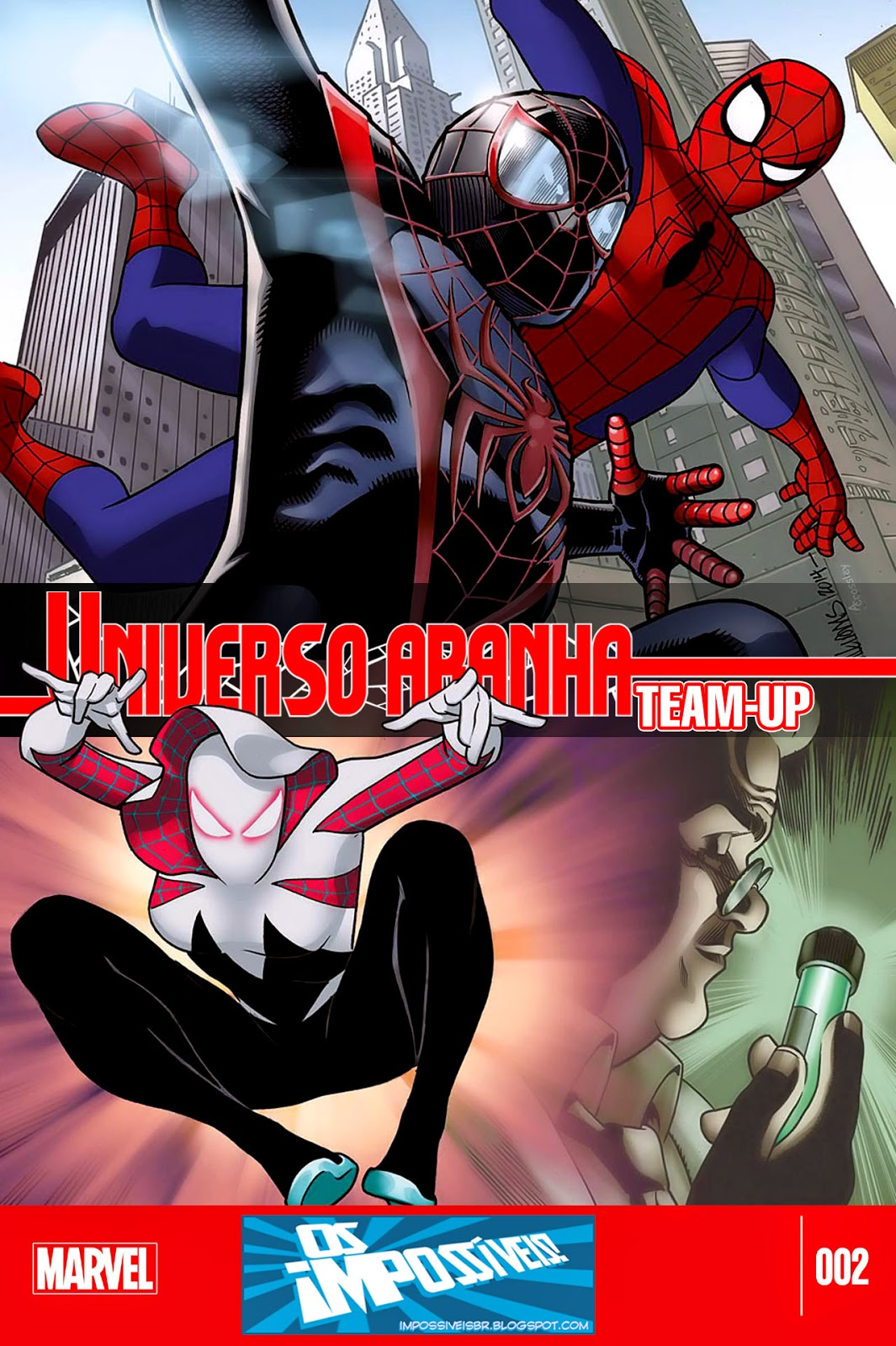 Universo-Aranha Team-Up #2