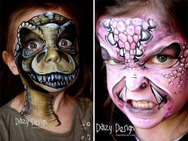Artist Transforms Children's Faces Into Fantasy Creatures-2